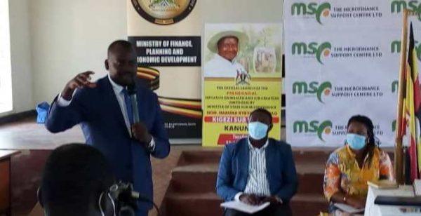 Microfinance Minister Kyeyune Kasolo wants leaders to sensitise masses on savings culture
