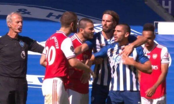 Brighton forward criticizes Arsenal after late winner