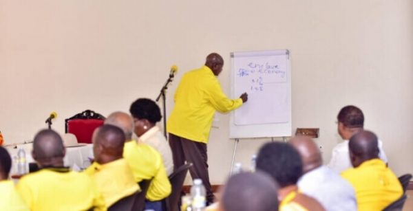 Resolutions of the NRM central executive committee