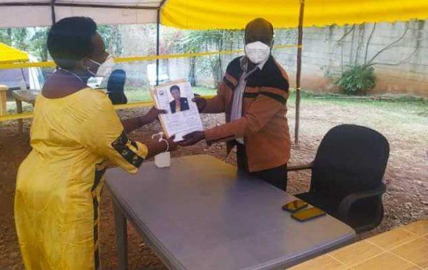 Hon Mary Paula officially nominated for Rubabo county NRM Parliamentary flag bearer