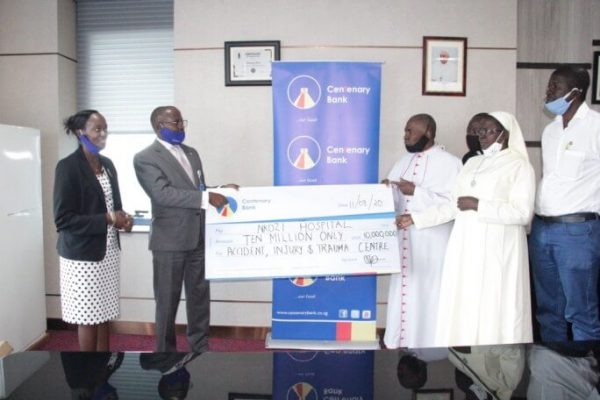 Centenary Bank Commits Ugx 10 Million towards Annual Nkozi Run