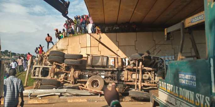1 killed, 2 injured in Namboole flyover accident