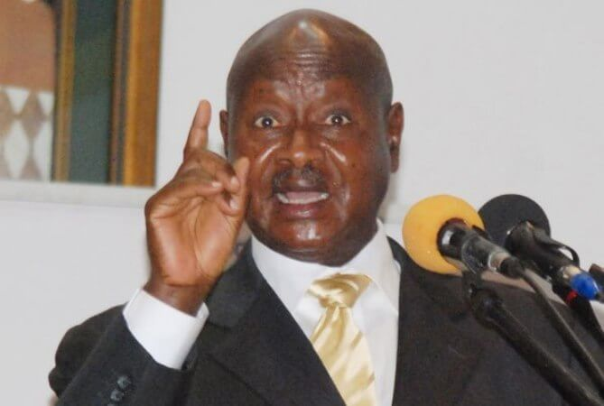 """Why would any sensible Ugandan stand to oppose me"" Museveni"
