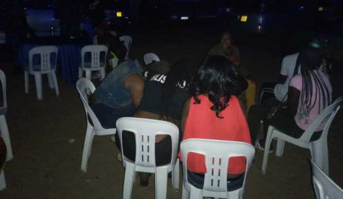 SEX PARTY: Police arrest 35 revelers from a city brothel