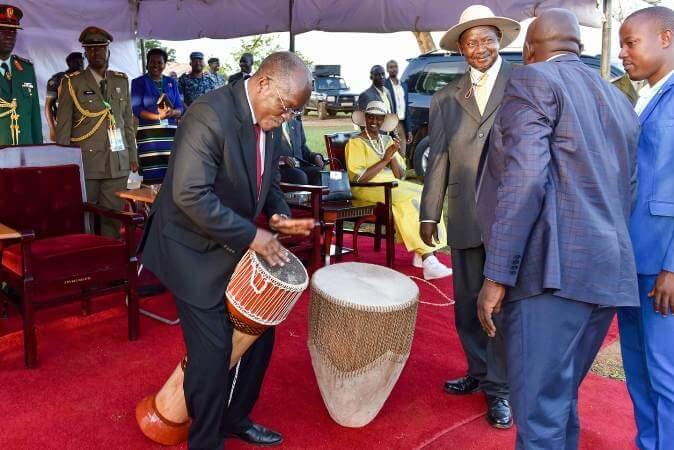 President Tibuhaburwa hails Tanzanians upon re-electing Magufuli
