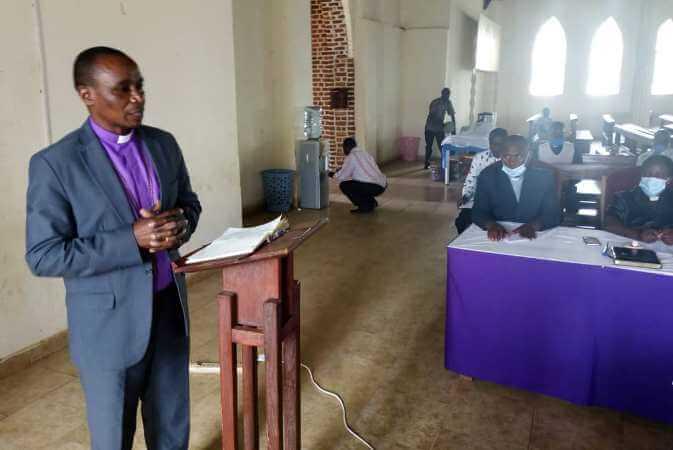 Bishop Zoreka implores Staff to work hard and leave lasting impression