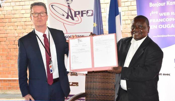 Association of French Teachers in Uganda inks MoU with the Embassy