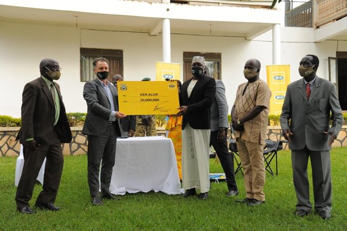Ker Alur Kingdom ratifies partnership with MTN ahead of 10th Anniversary Coronation