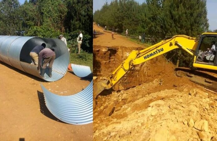 UNRA responds to Kanungu motorists cries, starts emergency work on broken Bwindi Road