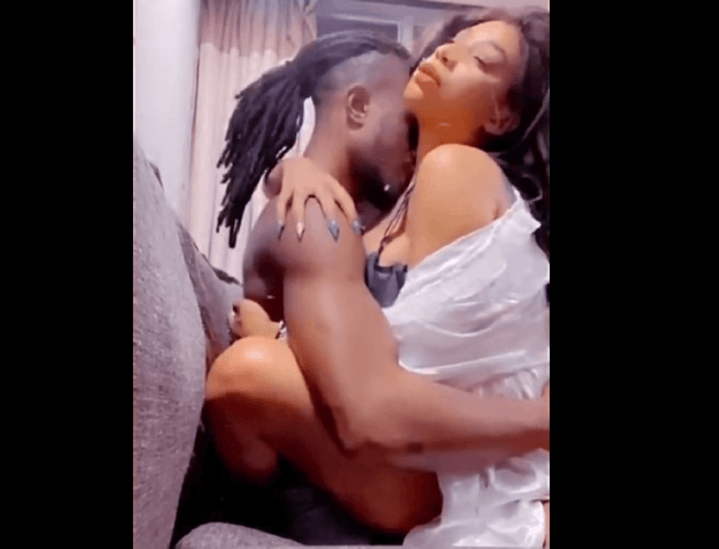 PICTORIAL: Bad Black and Boy friend release sex video enjoying themselves
