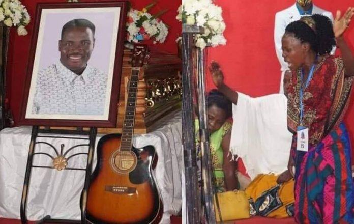 PICTORIAL: Pastor Yiga's body arrives at his Kawala based church