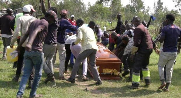 Woman's body rejects burial ground after dying at loggerheads with husband