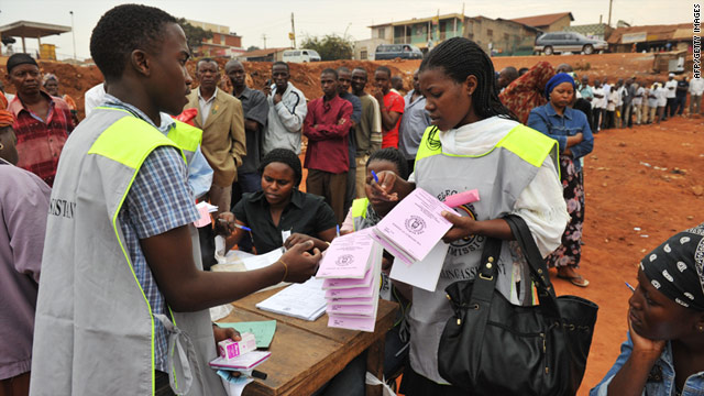 Drama in Ntungamo as Candidates accuse each other of electoral malpractices