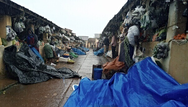Rukungiri central market vendors decry low sales on Christmas
